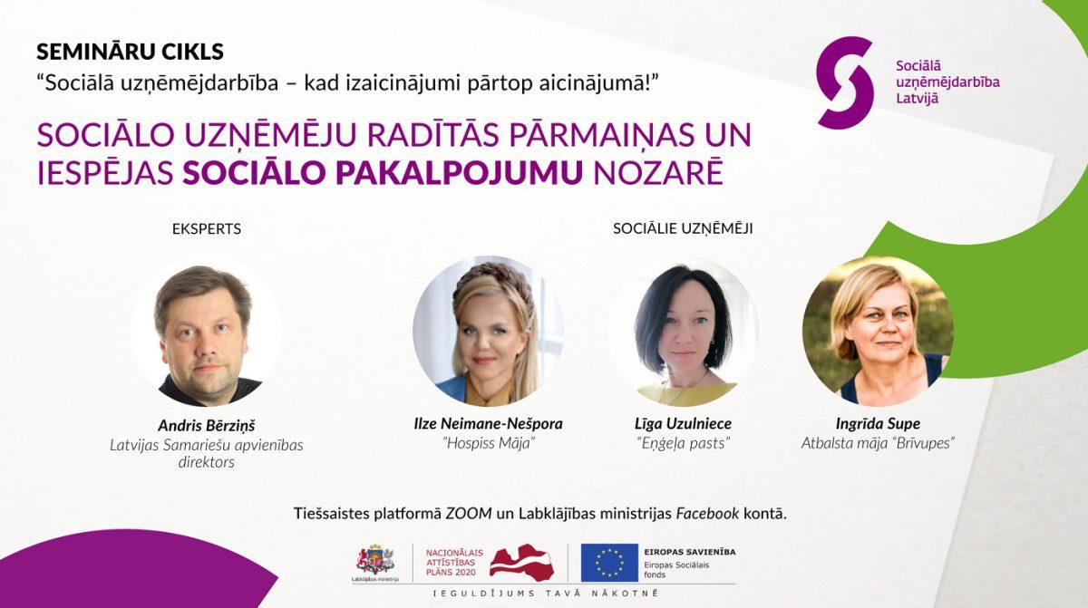 Diskusijas par Sociālo uzņēmējdarbību